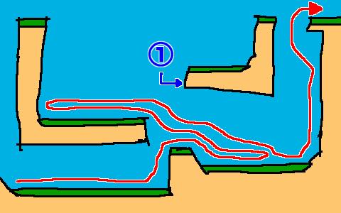 全力側転 541mの壁の攻略法